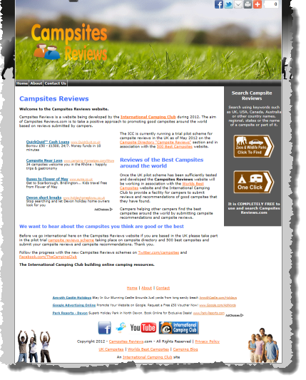 Campsites Reviews